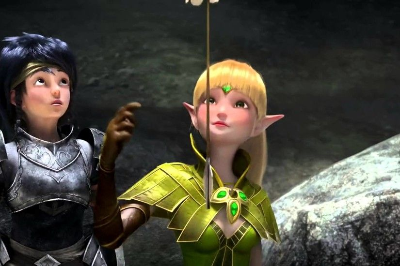 Dragon Nest - warrior's dawn official movie trailer