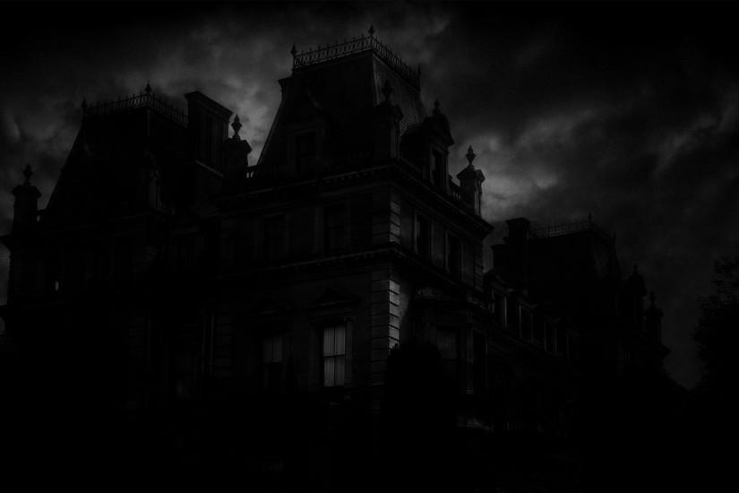 1920x1200 Spooky Mansion desktop PC and Mac wallpaper