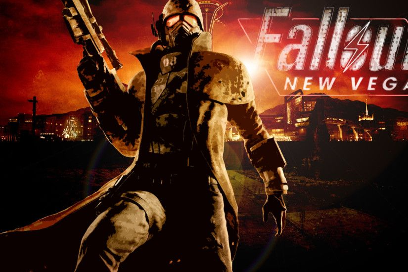 Fall Out New Vegas by Germanwallpaper Fall Out New Vegas by Germanwallpaper