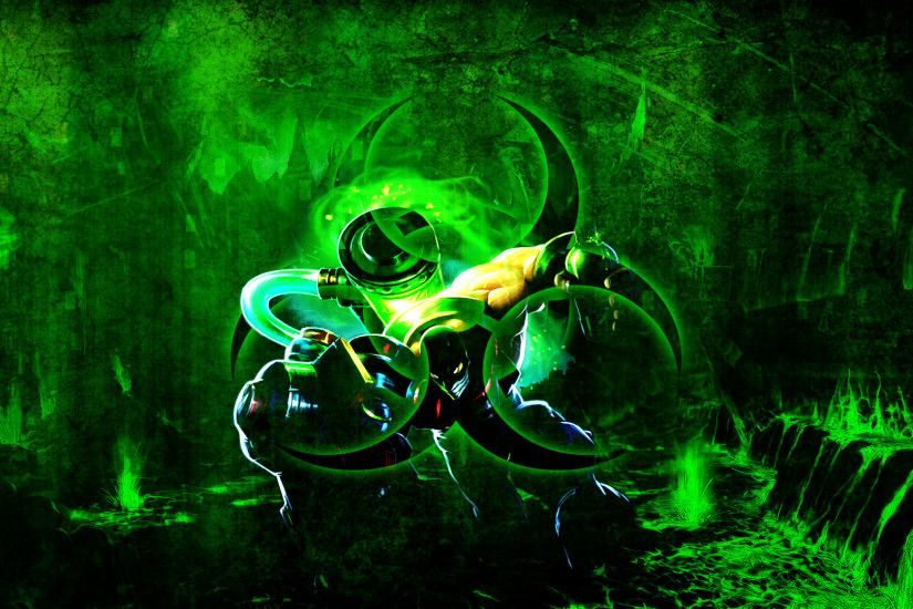 ... league of legends Augmented Singed wallpaper by nestroix
