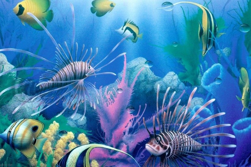 Deep Sea Wallpaper HD | Freetopwallpaper.