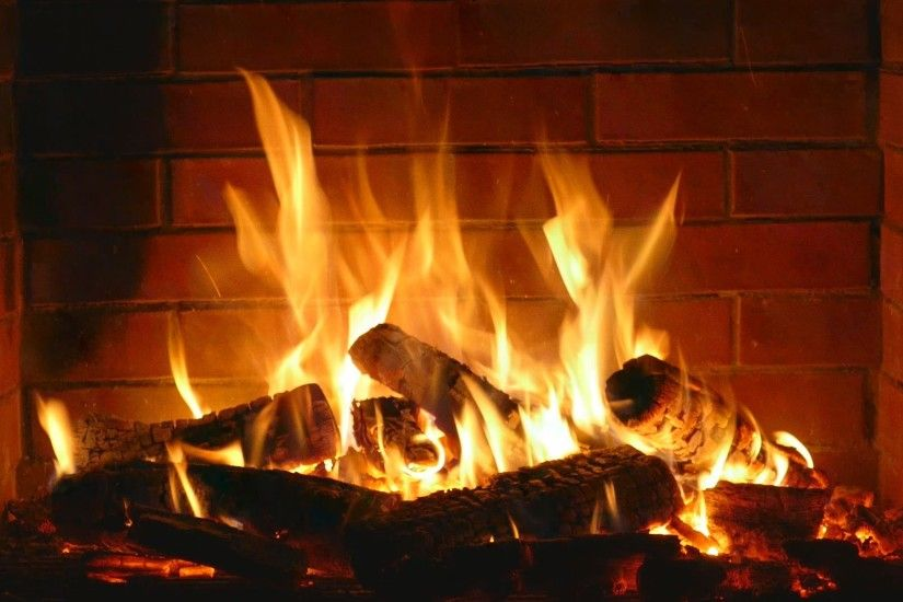 Fireplace - romantic - Full HD and 4K - 2 hours crackling logs Valentine's  Day - Love - YouTube