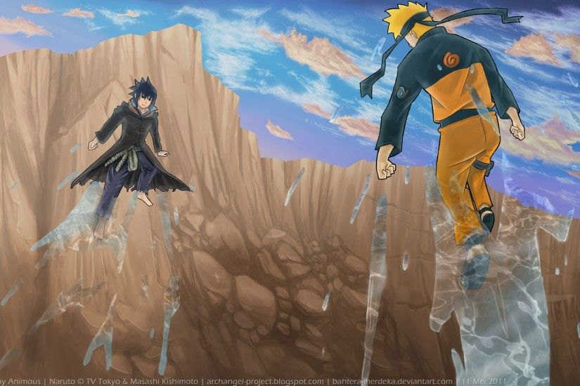 Naruto Sasuke Shippuden Art HD Wallpaper
