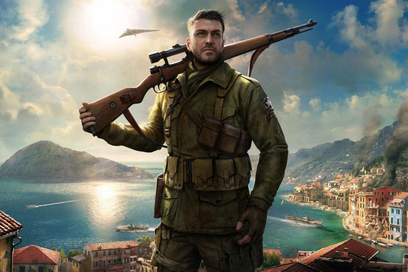 Sniper Elite 4 4K Wallpaper ...