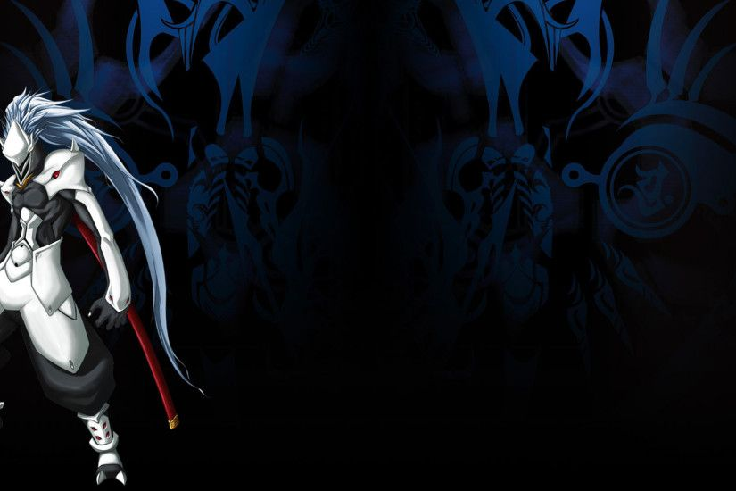 BlazBlue: Calamity Trigger Wallpaper 003 – Hakumen