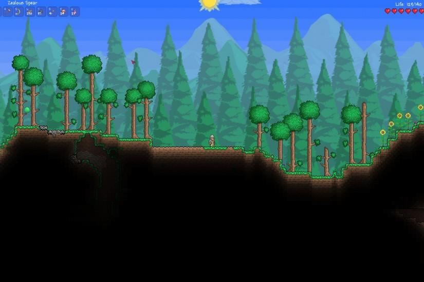 terraria background 1920x1080 for ipad