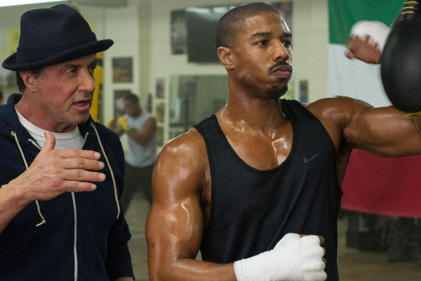 Sylvester, Stallone, Michael, B, Jordan, In, Creed, Movie, Wide, Hd,  Wallpaper, Download Wallpaper, Artwork, Widescreen, 2560×1600 Wallpaper HD