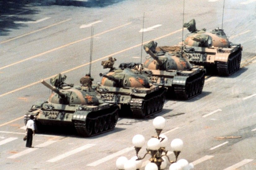 Tank Man Tiananmen Square HD Wallpaper | 1920x1080 | ID:49147