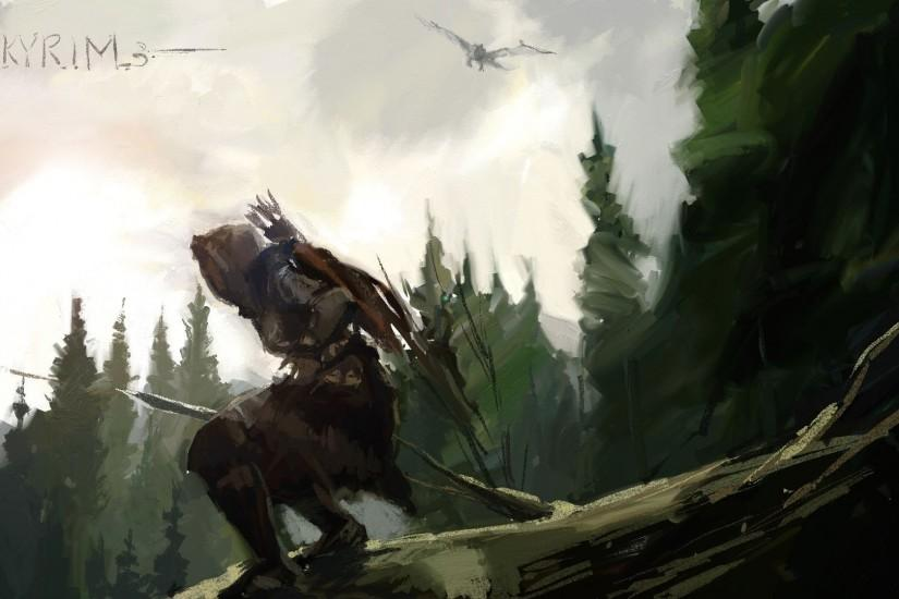 The Elder Scrolls V: Skyrim - Elder Scrolls V : Skyrim Wallpaper .