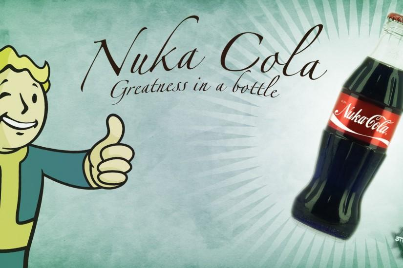 ... Nuka-Cola Fallout Themed Background 1920x1080 by stevenrf7