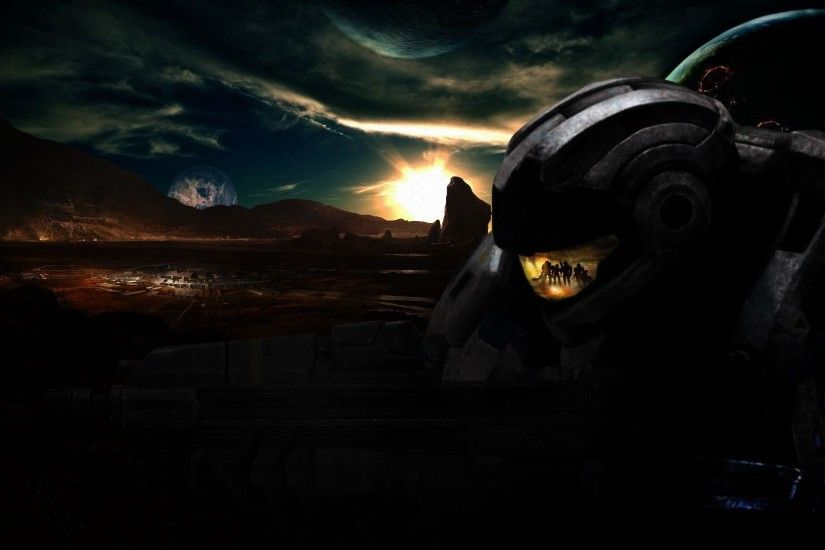 Wallpapers For > Halo Reach Wallpaper Hd 1080p