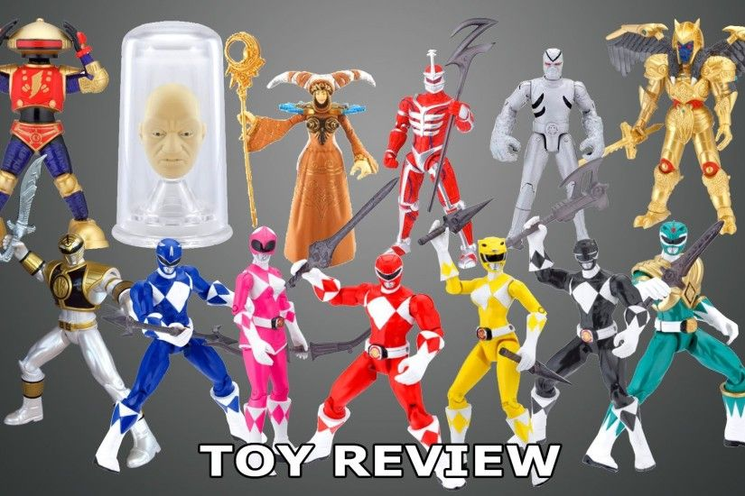 Mighty Morphin Power Rangers 2010 (The Complete 4 inch Figures) (Toy Review)