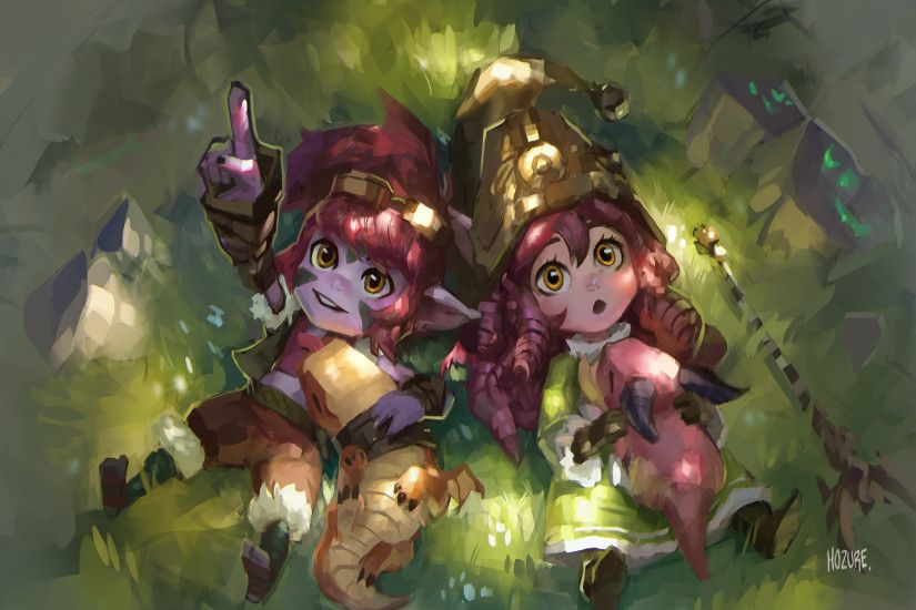 Dragon Trainer Lulu & Tristana by Hozure HD Wallpaper Fan Art Artwork  League of Legends lol