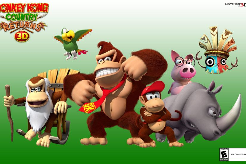 Donkey Kong Country Returns HD Wallpaper HD 5 - 1920 X 1200