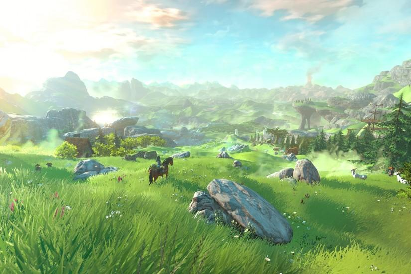 zelda breath of the wild wallpaper 1920x1080 for windows