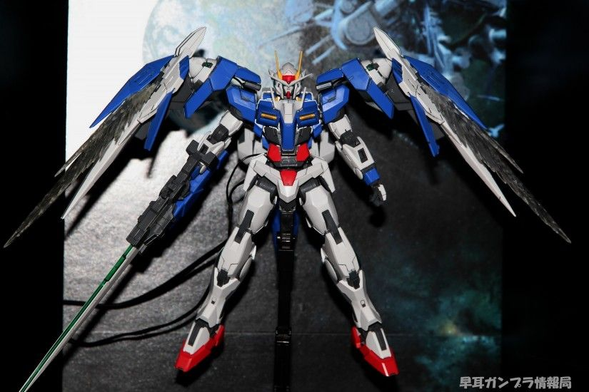 MG 1/100 GN-0000+GNR-010 Gundam 00 Raiser, No.20 NEW Wallpaper Size Images