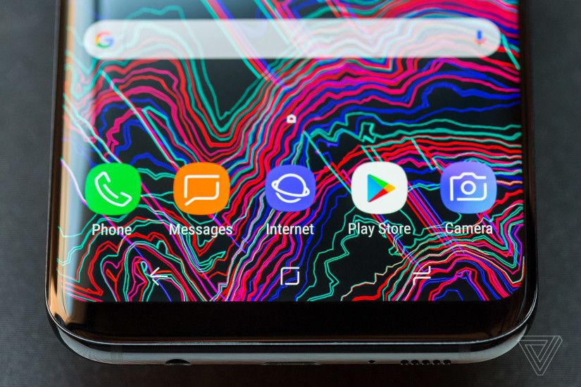 The new screen shape dictates many of the other hardware features on the  S8. Because the screen dominates the front of the device, there is no room  for ...