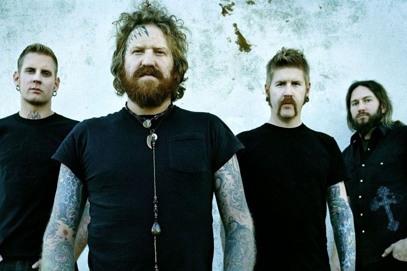 Preview wallpaper mastodon, earrings, t-shirts, chain, beard 1920x1080