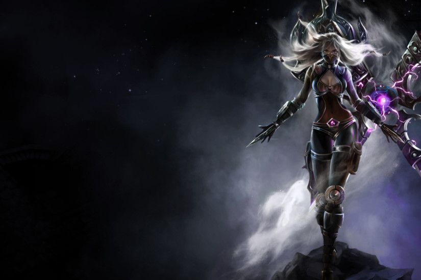 Dark Purple fantasy female warrior wallpaper from Warriors wallpapers