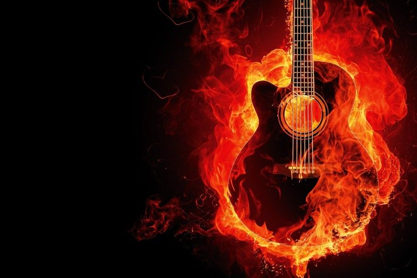Related Wallpapers from A Day To Remember. Guitar on Fire