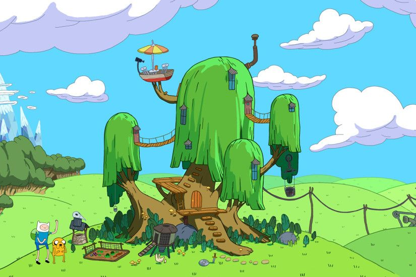 adventure time house background desktop images download free windows  wallpapers amazing colourful 4k picture lovely 1920×1080 Wallpaper HD