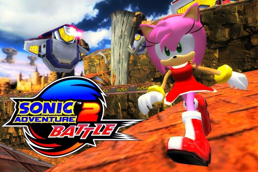 Sonic Adventure 2: Battle - Sky Rail - Amy (No HUD) [REAL Full HD,  Widescreen] 60 FPS - YouTube