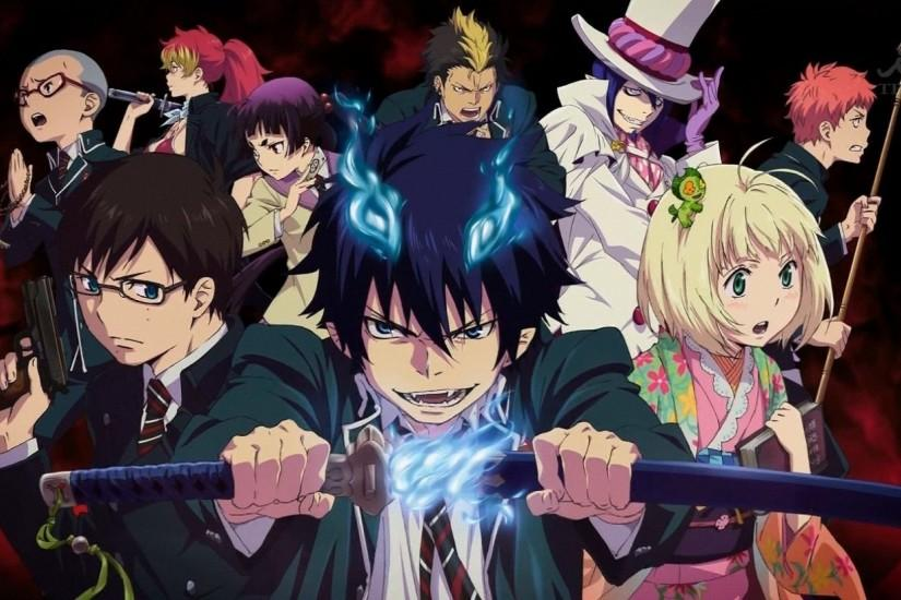 blue exorcist wallpaper 1920x1080 for windows 10