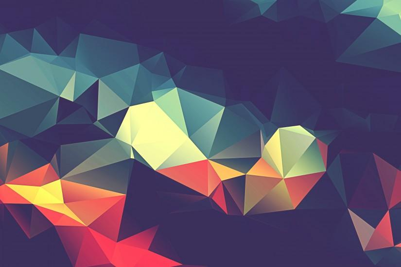 popular polygon background 3000x2000