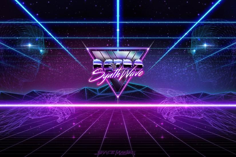 synthwave wallpaper 1920x1149 for 1080p