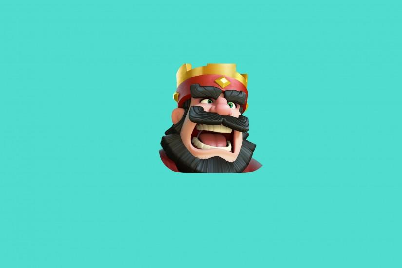 Clash Royale King · Clash Royale King Wallpaper