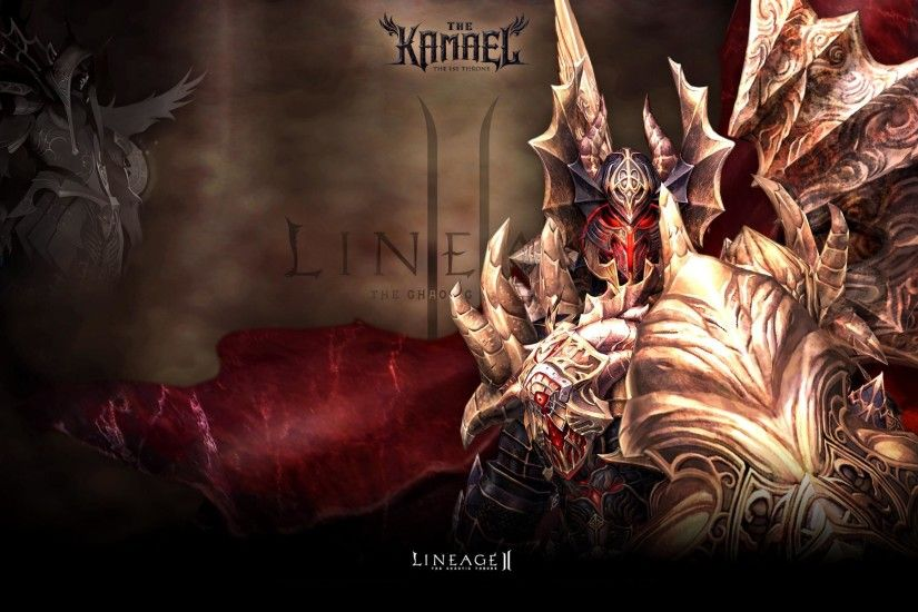 Wallpaper L2 Lineage 2 Kamael Games Lineage 2
