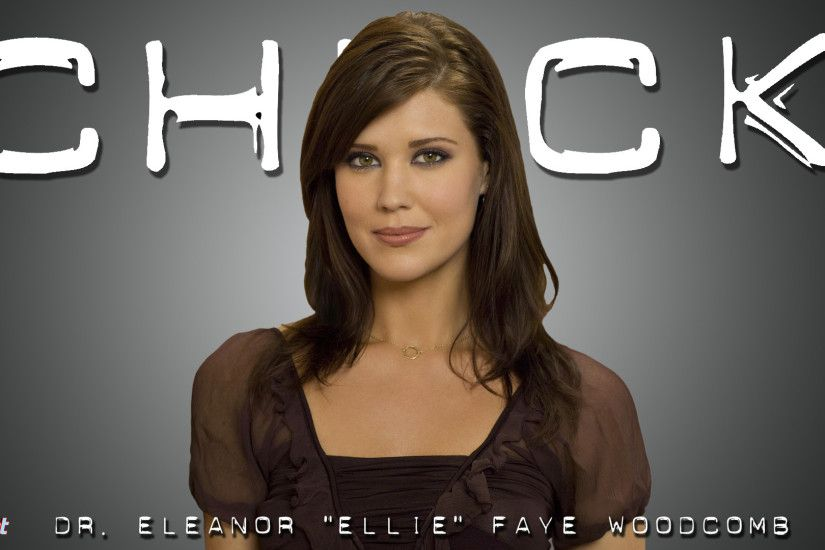 This Chuck wallpaper is of Eleanor Woodcomb played by the talented Sarah  Lancaster