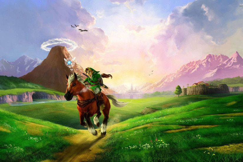 Zelda Ocarina Of Time Link - wallpaper.