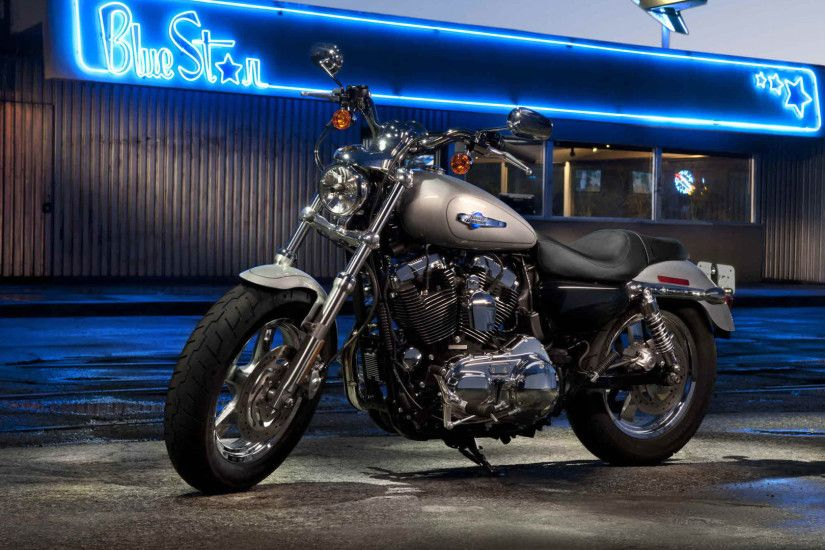 16 Harley-Davidson Sportster HD Wallpapers | Backgrounds - Wallpaper Abyss