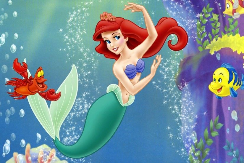 Ariel Little Mermaid Wallpaper.