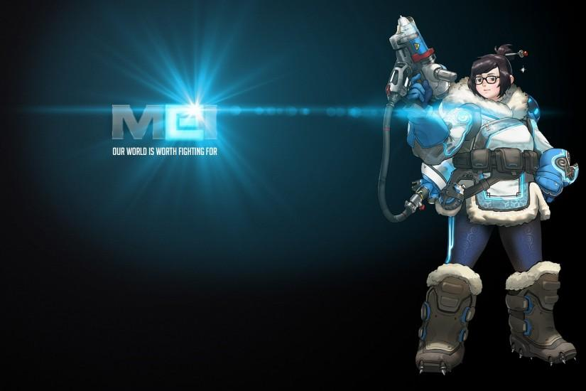 Video Game - Overwatch Mei (Overwatch) Wallpaper
