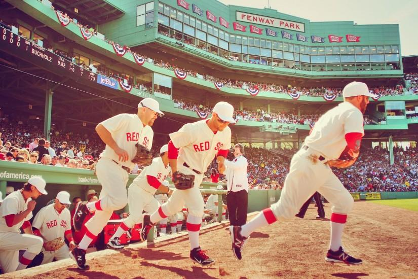 Boston Red Sox Starting The Game Picture