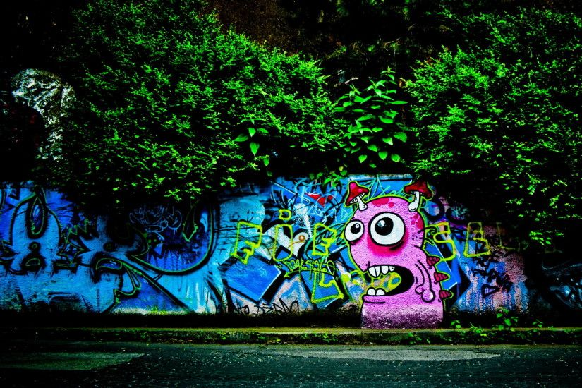 Graffiti widescreen wallpapers background