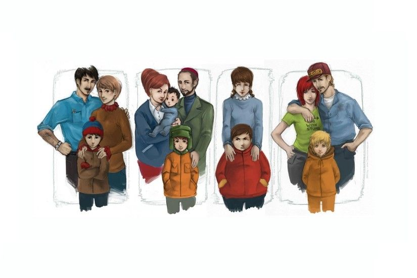 south park kyle broflovski stan marsh kenny mccormick eric cartman  Wallpapers HD / Desktop and Mobile Backgrounds