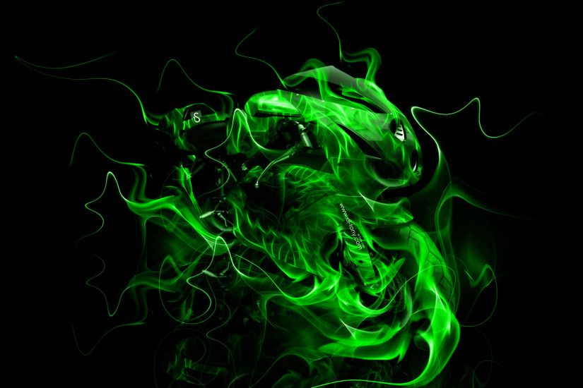 Green flame by Pichufan12 on DeviantArt ...