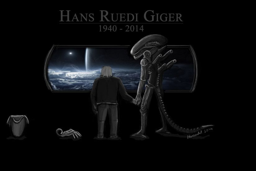 H.R. Giger Tribute by ilPoli H.R. Giger Tribute by ilPoli