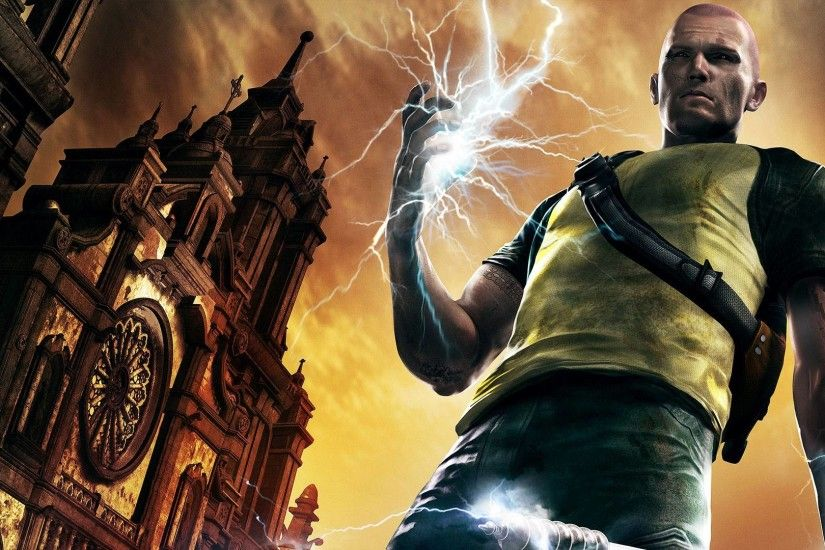 inFamous 2 Wallpapers in full 1080P HD Â« GamingBolt.com: Video .