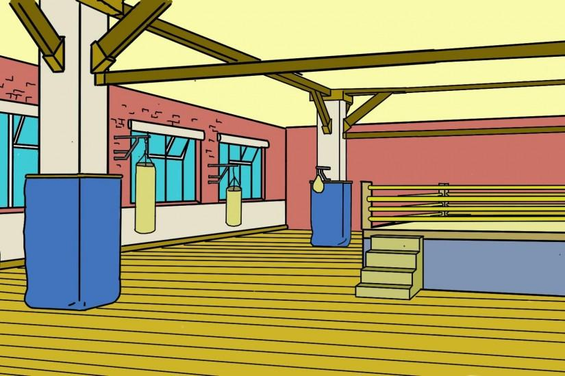 boxying gym background 3