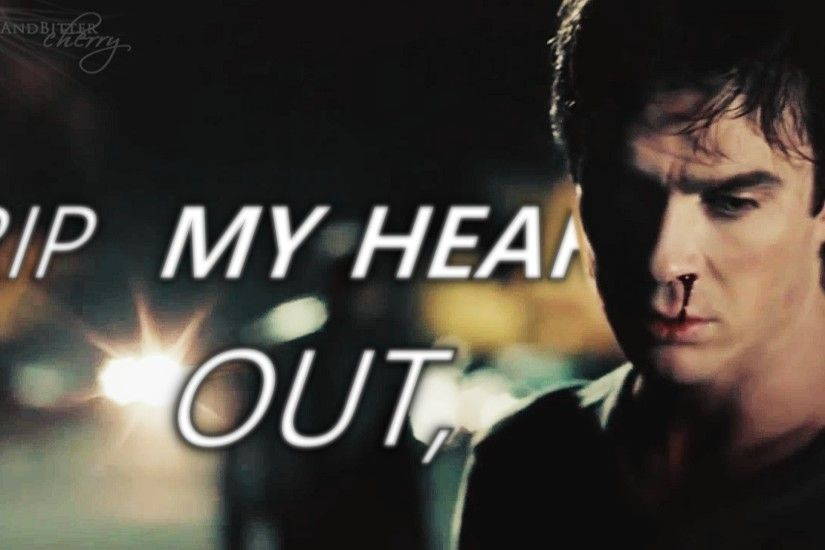 Damon Salvatore | 'Rip my heart out, (7x12) - The Vampire Diaries TV Show  video - Fanpop