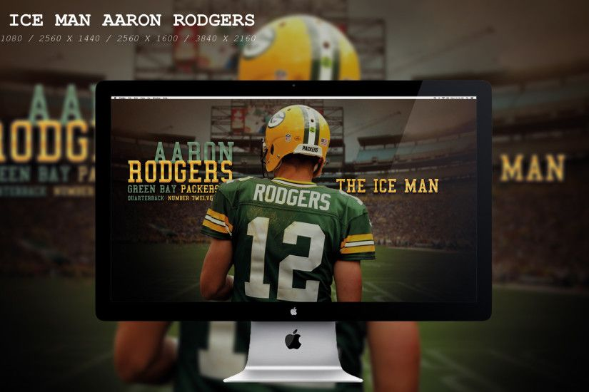 ... The Ice Man Aaron Rodgers Wallpaper HD by BeAware8