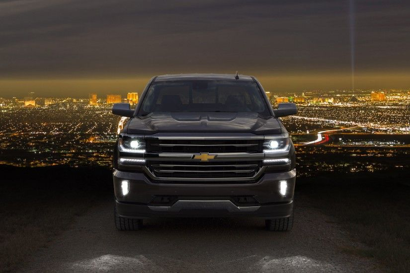 2016 Chevrolet Silverado High Country Crew Cab pickup wallpaper | 3000x2016  | 815021 | WallpaperUP