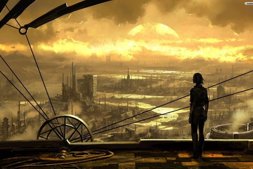 Steam Punk Backgrounds