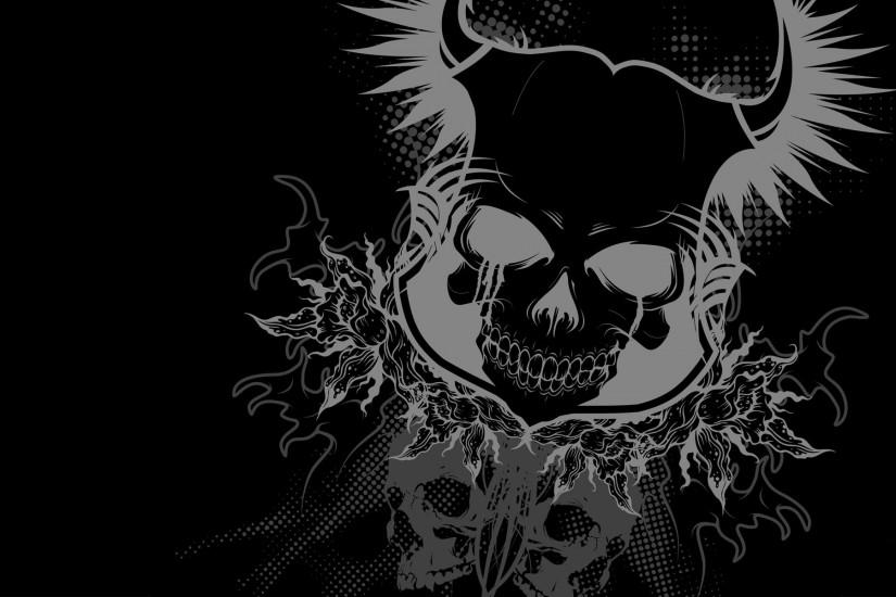 cool skull backgrounds 1920x1200