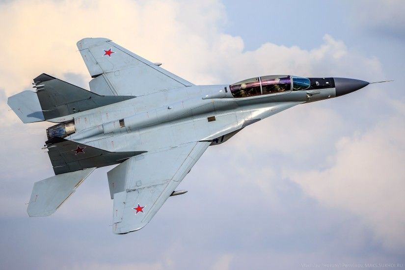 ... Top view of a Mikoyan MiG-35 wallpaper - Aircraft wallpapers - #51477  ...