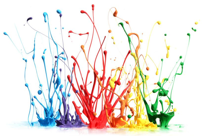 Paint Splatter Wallpaper 7545